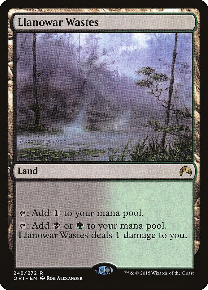 Llanowar+Wastes