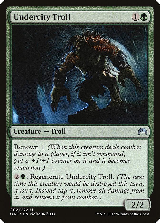 Undercity+Troll