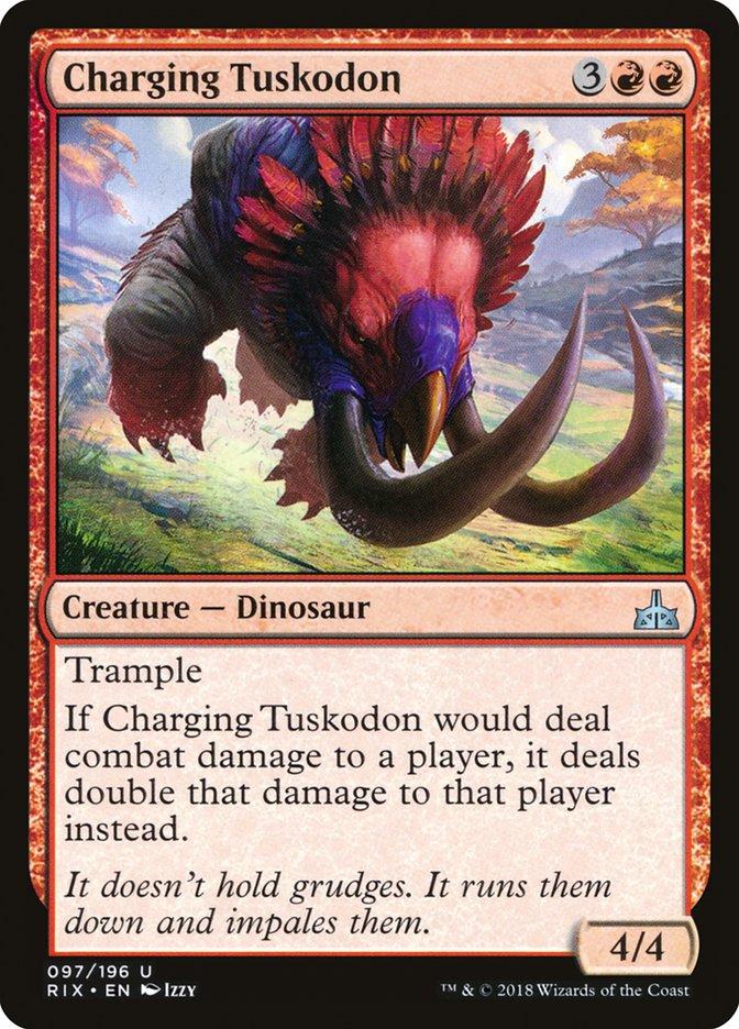 Charging+Tuskodon