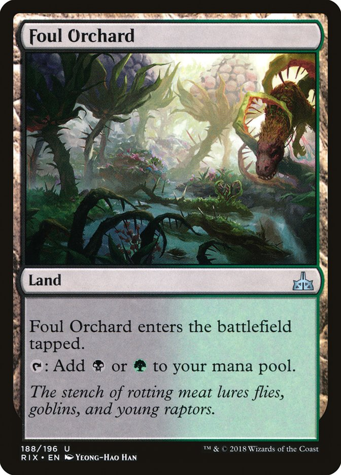 Foul+Orchard