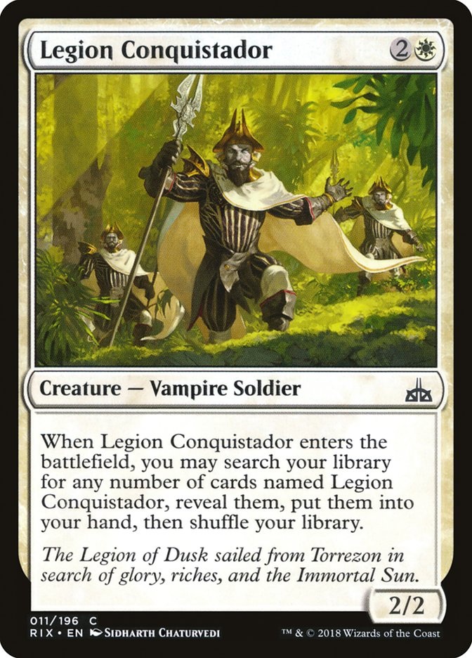 Legion+Conquistador
