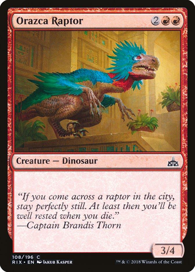 Orazca+Raptor