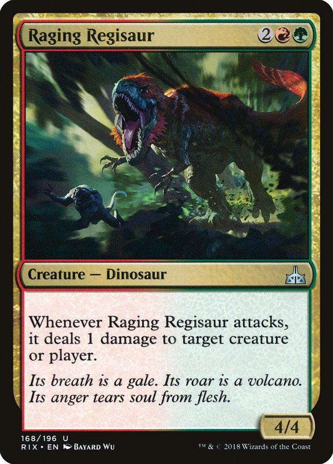 Raging+Regisaur