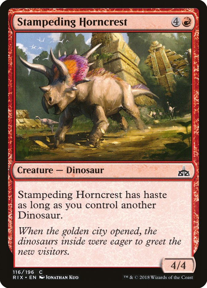 Stampeding+Horncrest