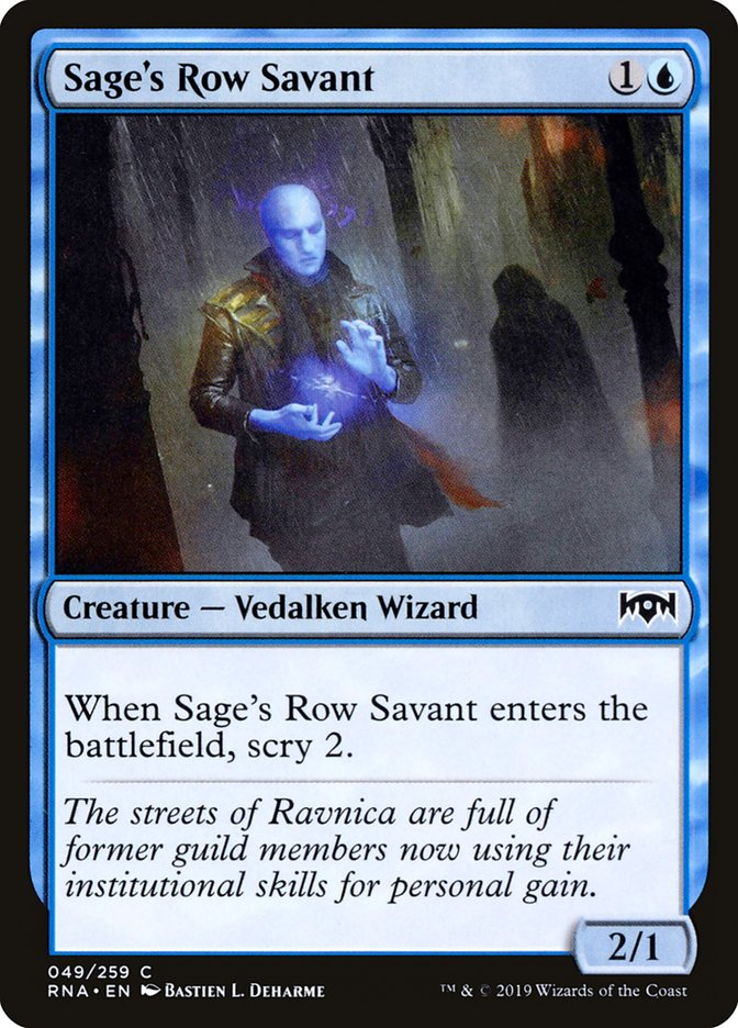 Sage%27s+Row+Savant