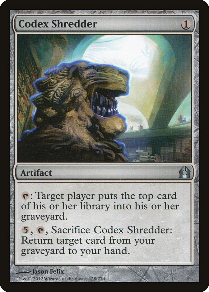 Codex+Shredder