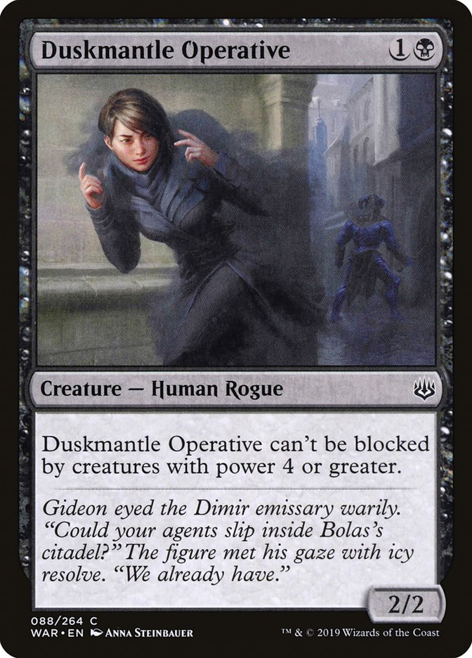 Duskmantle+Operative
