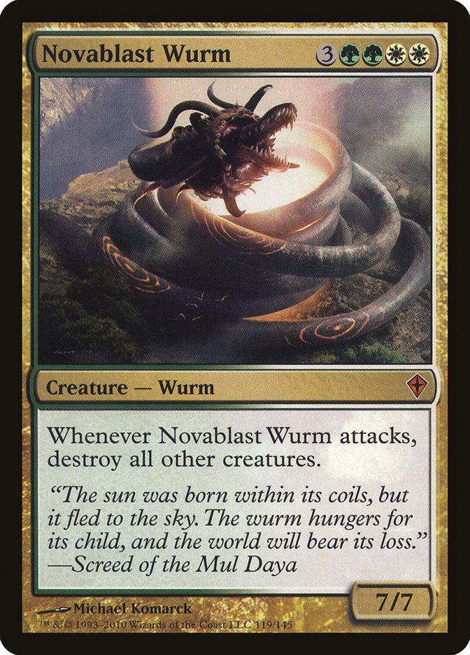 Novablast+Wurm