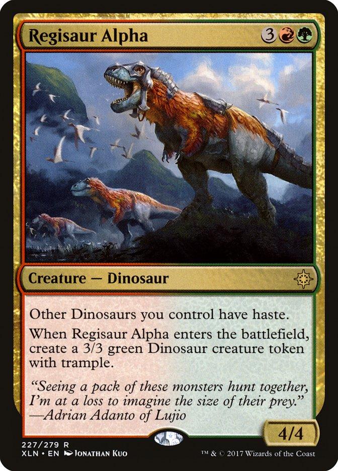 Regisaur+Alpha