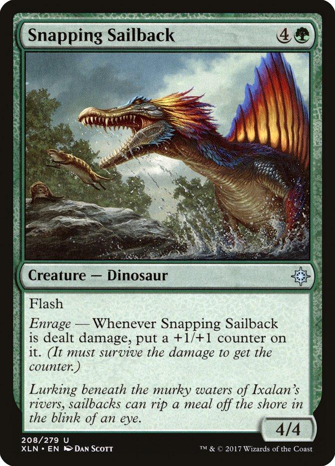 Snapping+Sailback