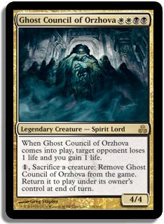 Ghost Council Of Orzhov Multiplayer Commander Decklists Commander Edh The Game Mtg Salvation Forums Mtg Salvation Ruhan of the fomori voltron edh/commander deck tech for magic: multiplayer commander decklists