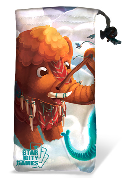 StarCityGames.com Dice Bag - Creature Collection - Mammoth