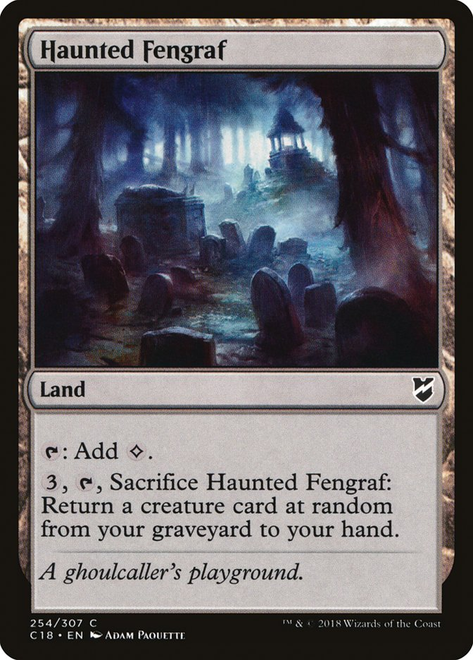 Haunted Fengraf
