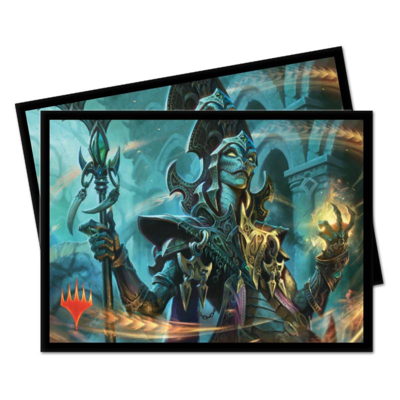 Ultra Pro Magic Matte Sleeves - Commander 2019 - Kadena, Slinking Sorcerer