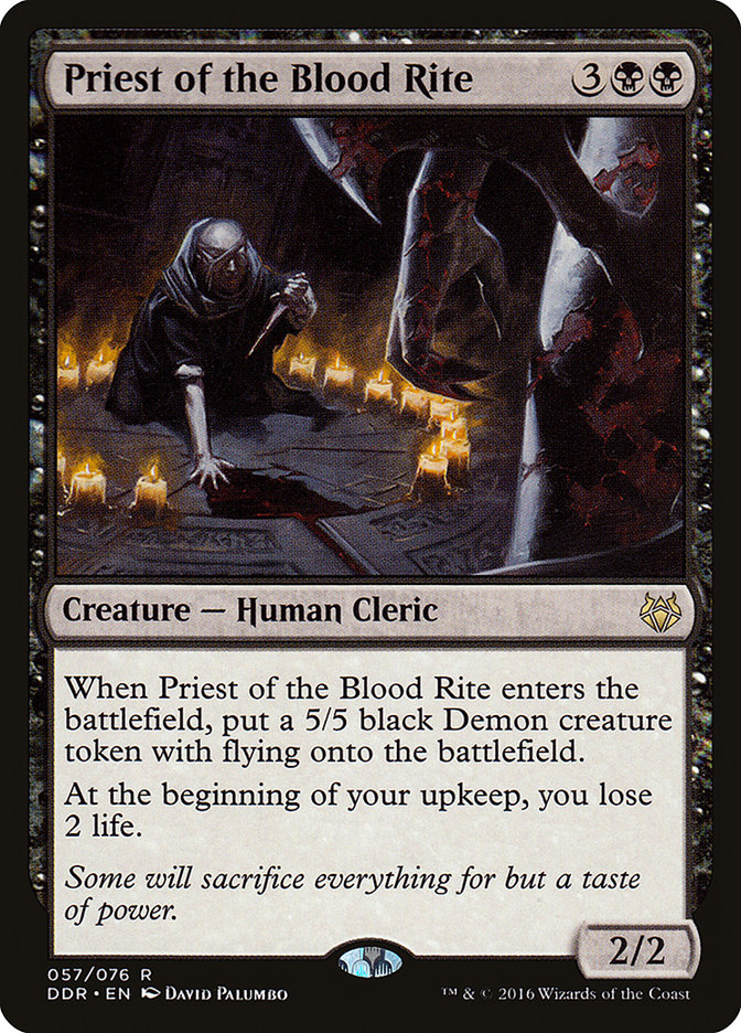 Priest Of The Blood Rite At Starcitygames Com