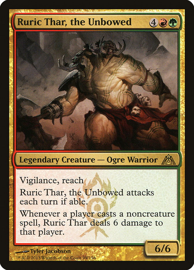 Ruric Thar, the Unbowed