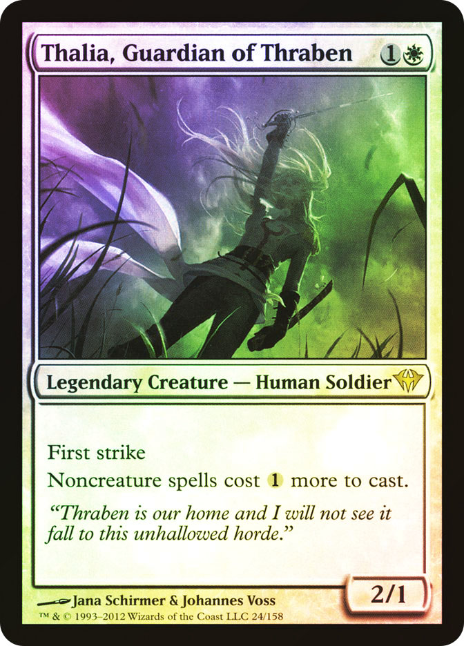 Thalia, Guardian of Thraben