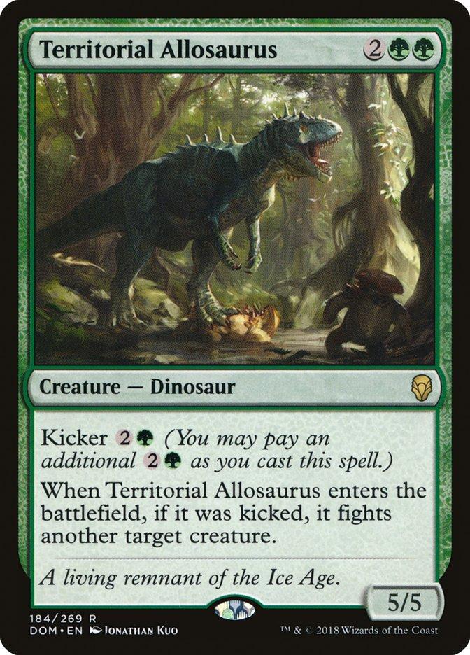 Territorial Allosaurus
