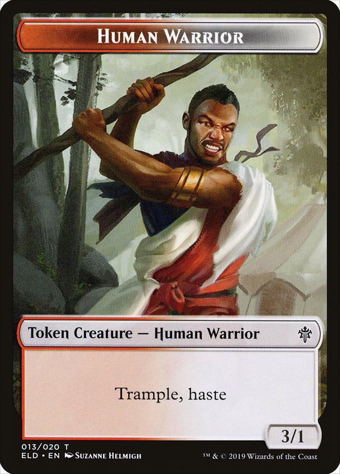 [Human Warrior Token]