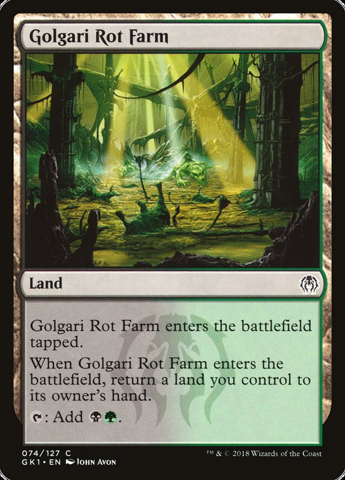 Golgari Rot Farm