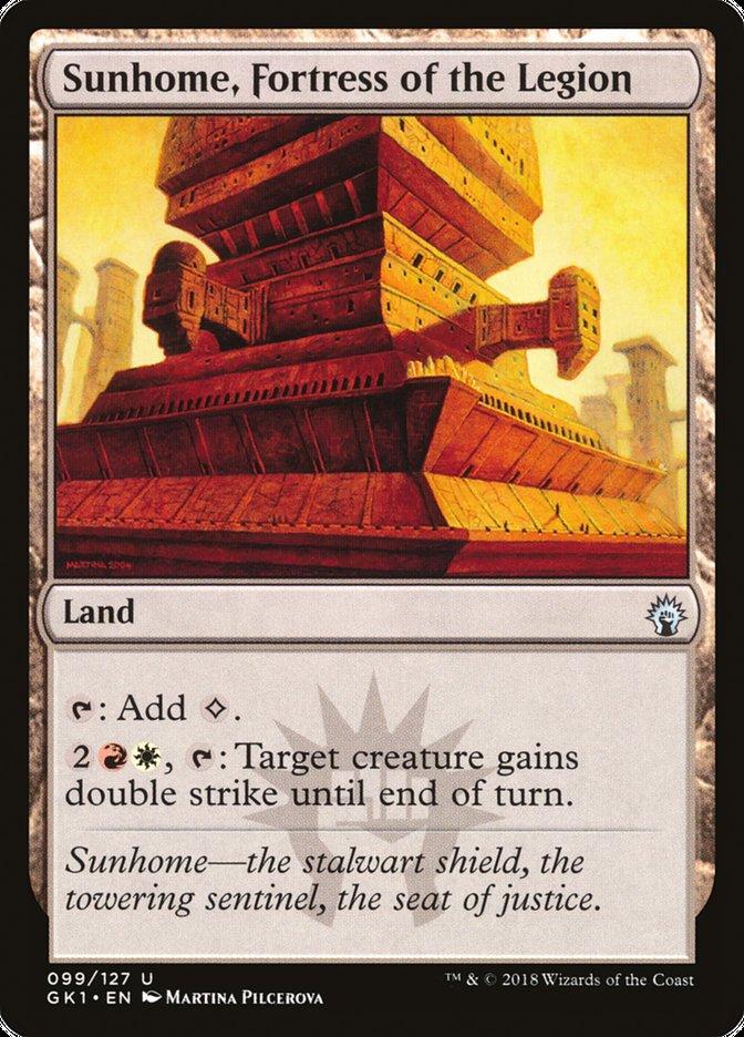Sunhome, Fortress of the Legion
