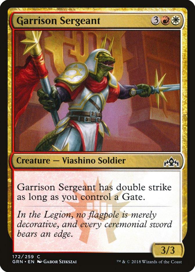 Garrison Sergeant