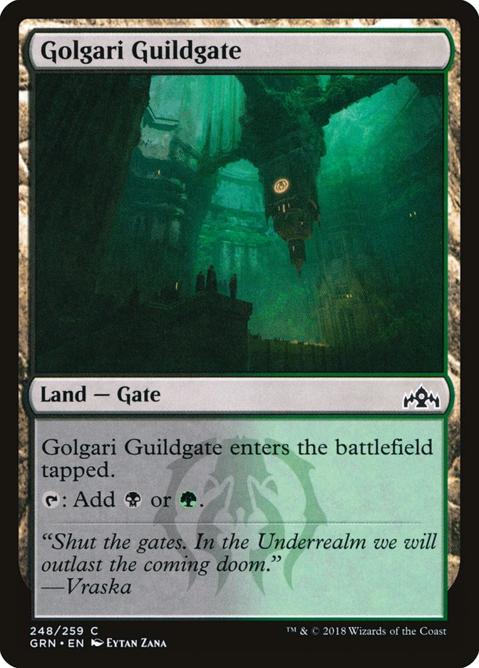 Golgari Guildgate 248