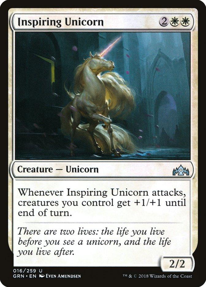 Inspiring Unicorn