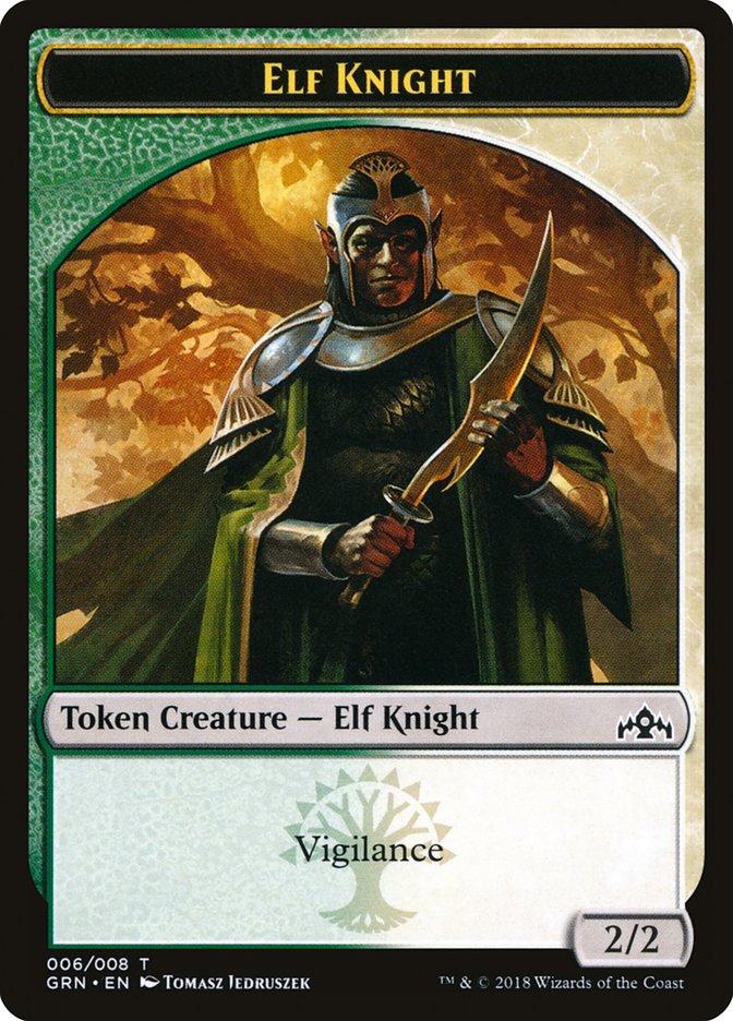 [Elf Knight Token]