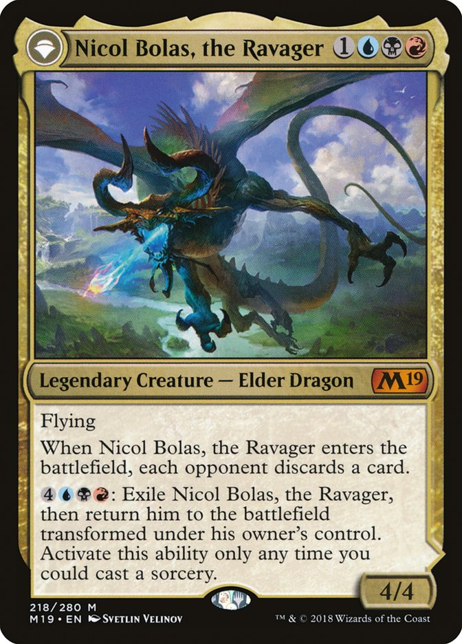 Nicol Bolas, the Arisen