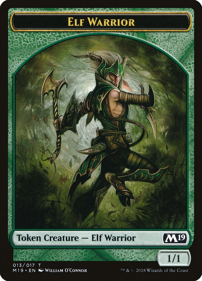 [Elf Warrior Token]