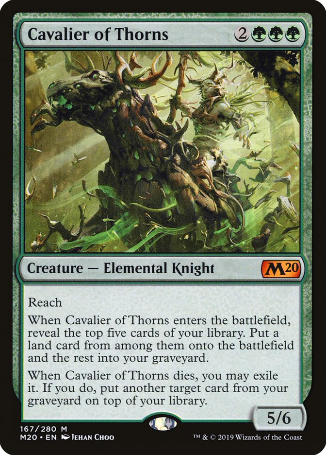 Cavalier of Thorns