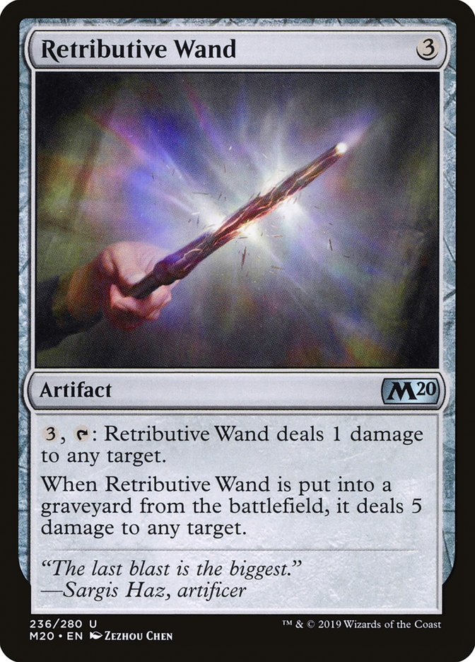 Retributive Wand