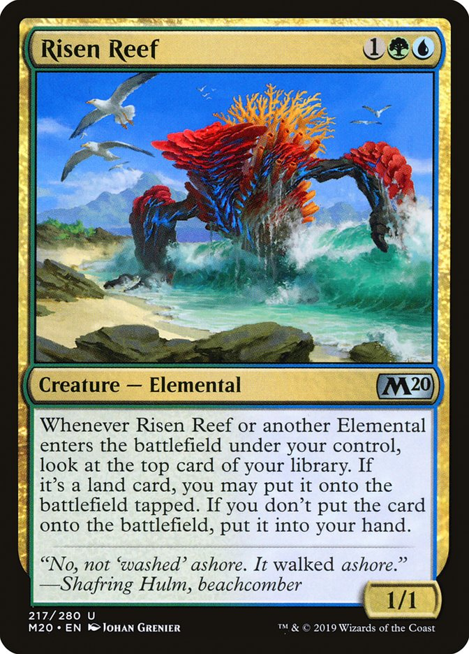 Best Card Games 2020 StarCityGames.  Risen Reef Is The Best Card In Core Set 2020