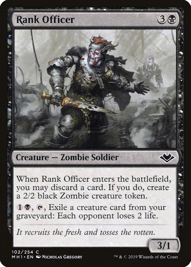 Rank Officer