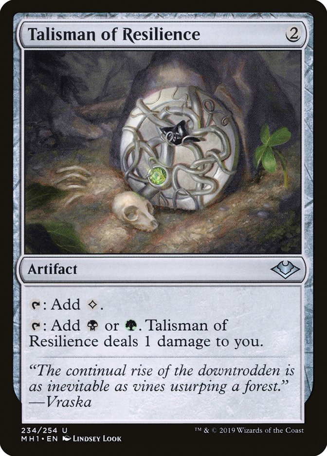 Talisman of Resilience
