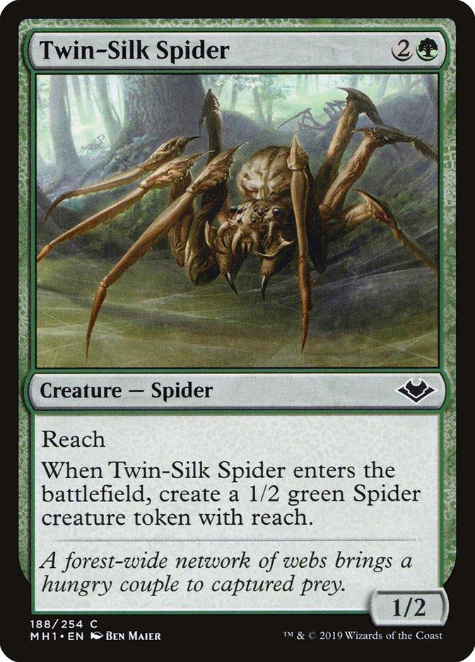 Twin-Silk Spider