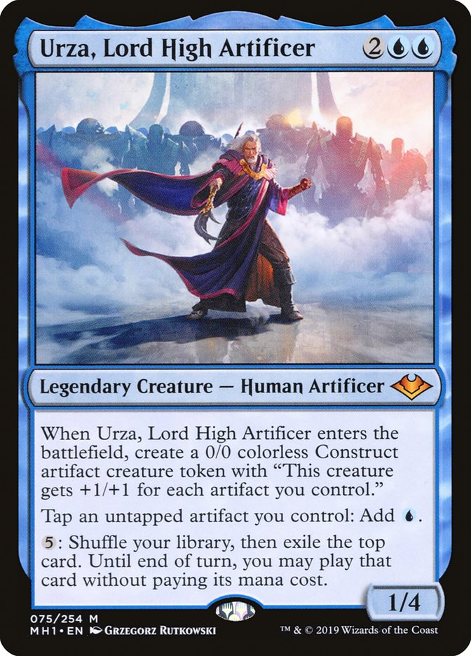 StarCityGames com - Urza, Lord High Artificer Is Bringing