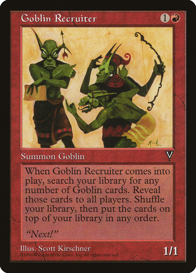 Goblin Recruiter