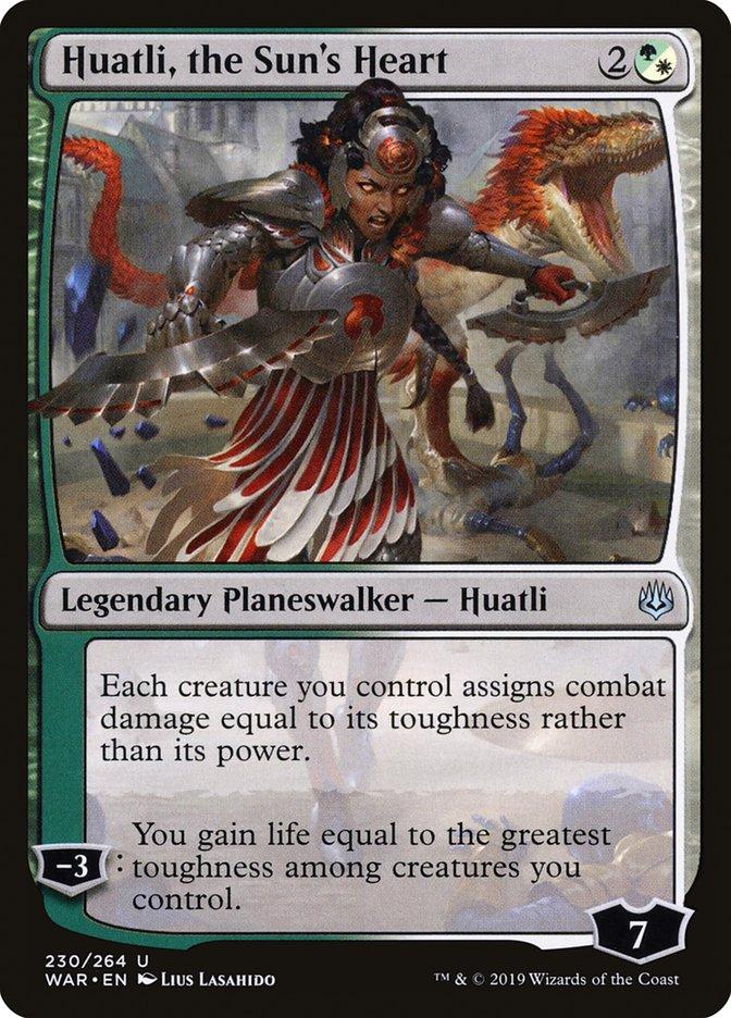 Huatli, the Sun's Heart