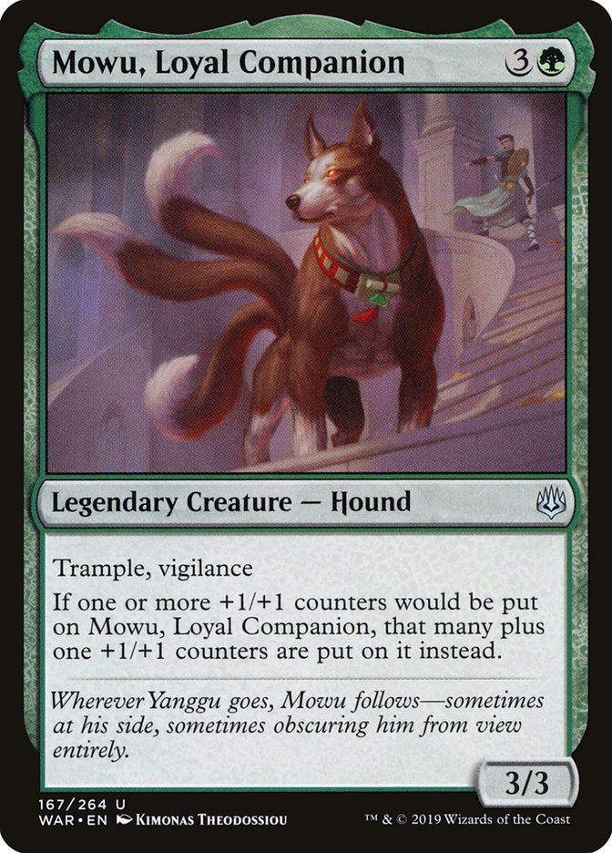 Mowu, Loyal Companion