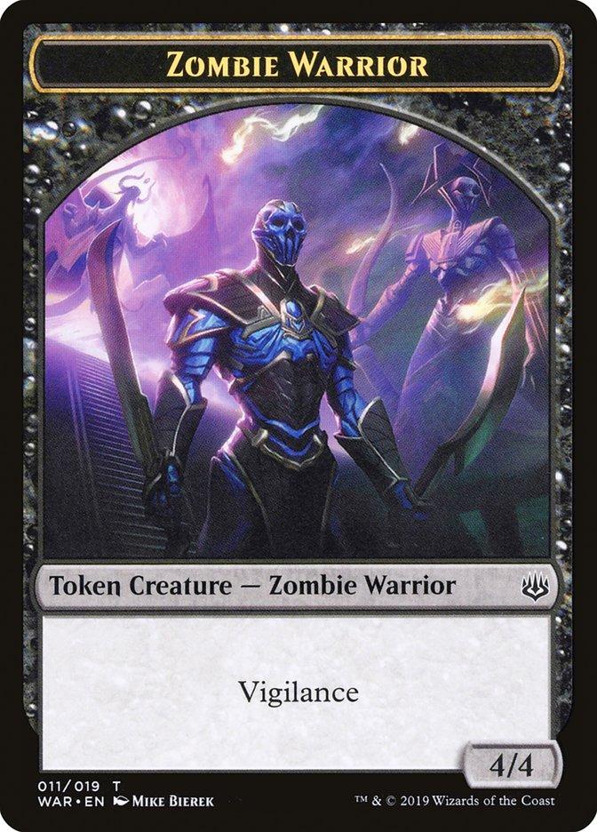 [Zombie Warrior Token]