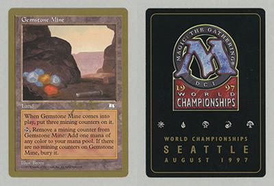 Gemstone Mine Weatherlight Uncommon EN NM MTG MTG Einzelkarten Sammeln & Seltenes