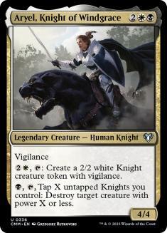 Aryel, Knight of Windgrace