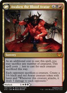 Awaken the Blood Avatar