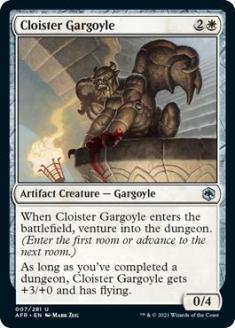 Cloister Gargoyle