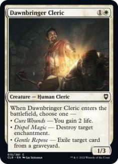 Dawnbringer Cleric
