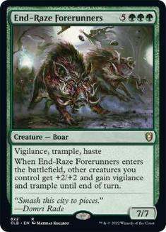 End-Raze Forerunners