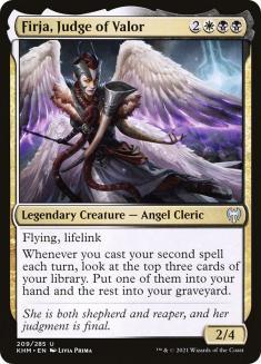 Firja, Judge of Valor