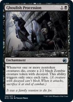 Ghoulish Procession